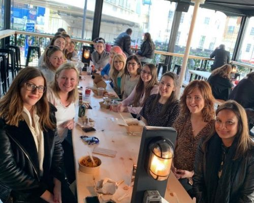 International Women's Day Lunch London   Trayport