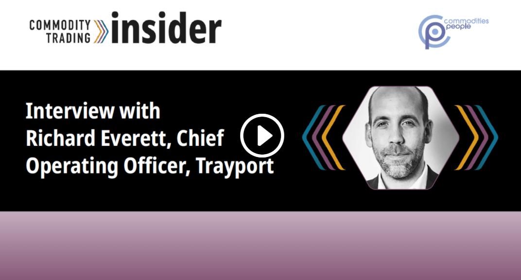 Richard Everett Interview Energy Week Video - Trayport